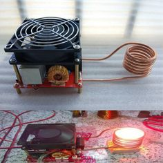 20A ZVS Induction Heating Board Flyback Driver Heater With Ignition Coil Sale - Banggood.com