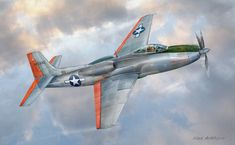 Vultee XP-81, hybrid turboprop, high-altitude fighter. . .