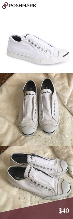 Jack Purcell Converse White Jack Purcell Converse... missing the strains Converse Shoes Sneakers