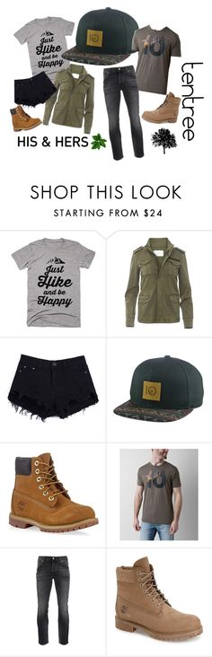 """""""tentree - his & hers - Lids"""" by lids4hats on Polyvore featuring Timberland, tentree and Nudie Jeans Co."""