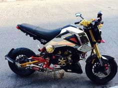 Honda MSX Honda Scooters, Motos Honda, Honda Grom, Grom Bike, 125cc, Pit Bike, Bikes For Sale, Go Kart, Custom Motorcycles
