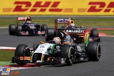 Nico Hülkenberg, Force India F1, Formule 1 Grand Prix van Groot-Brittannië 2014, Formule 1