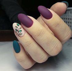 Cute little and great nails Nails Gelish, Nail Manicure, Winter Nail Art, Winter Nails, Great Nails, Cute Nails, Matted Nails, Cute Nail Colors, Nail Candy