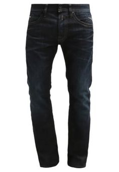 TILLBOR - Jeans Straight Leg - dark-blue denim