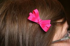 On My Side of the Room: Uncharted Territory: Hair bows, a Tutorial