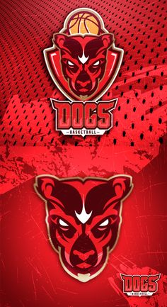 Sport logo DOGS BASKETBAll on Behance
