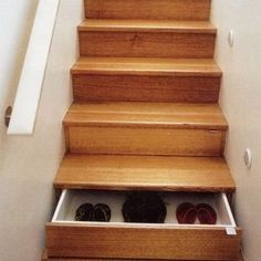 different under-stair storage