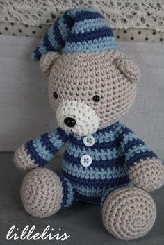 Teddy en pijama