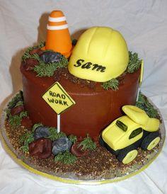 construction - construction cake.
