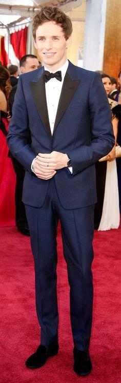 Best Dressed Guys at the Oscars 2015   Eddie Redmayne