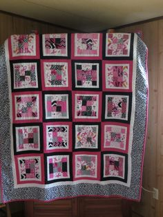 Newbie to quilting. Made for a friend recovering from breast cancer.