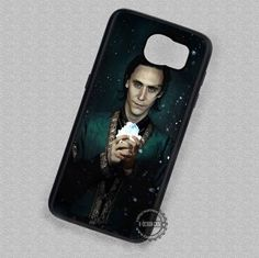 White Stone Loki Tom Hiddleston - Samsung Galaxy S7 S6 S5 Note 7 Cases & Covers