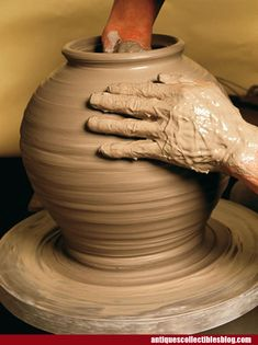 Become good at pottery making
