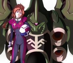 "Marida Cruz (マリーダ・クルス,Marīda Kurusu) is an 18 year old Cyber Newtype. She was originally known as ""Ple Twelve"", a clone of Elpeo Ple. Marida is a lieutenant junior grade mobile suit pilot for Neo Zeon or ""The Sleeves"". She most note ably pilots the NZ-666 Kshatriya. The designation number of the Kshatriya says it all NZ-666, 666 better known as ""The Mark Of The Beast""."