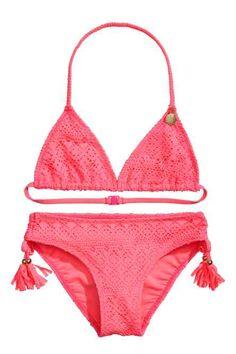 Pink Bibbidi Bobbidi Boo Triangle Bikini - Toddler & Girls ...
