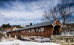 Covered bridge in Littleton New Hampshire photo by GlennGordon