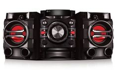 Eye-catching audio system stream music wirelessly from smartphones, plays CDs, and picks up FM stations