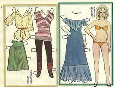 Olivia Newton John Vintage Scarce Paper Doll Movie Star   eBay