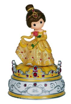 Precious Moments Disney Belle Beauty And The Beast - Musical   144104 NIB