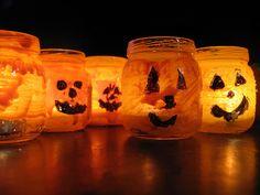 Mini Candle Jack-o-lanterns