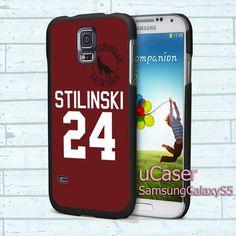 "Teen Wolf STILINSKI lacro For Samsung Galaxy S5 5.1"" screen Black Case"