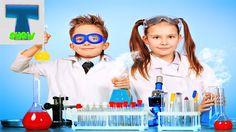 Chemistry детский набор алхимика.Развивающее видео для детей.Преврати ме...