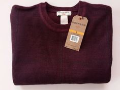 STYLE: 81080CK COLOR: 8635. MEN'S DOCKER'S SWEATER. COMFORT TOUCH. SUPER SOFT TOUCH AND FEEL. | eBay!