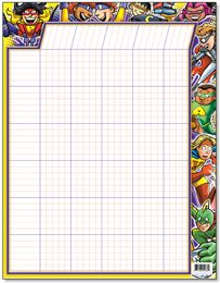 Superhero classroom chart-can order lots of superhero resources from this site