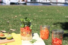 OK, we'll be the first to admit that we do not eat outside enough as we should! We're celebrating National Eat Outside Day by letting you know the health benefits of hanging out in nature plus we've got a yummy Mexican Layered Salad recipe for you!