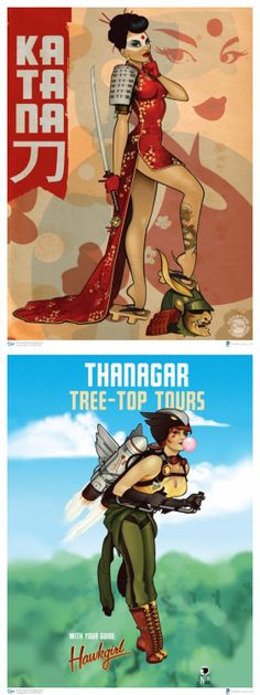 "extraordinarycomics: "" DC Comics Bombshells Created by Ant Lucia """