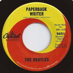 Paperback Writer / Beatles / #1 on Billboard 1966