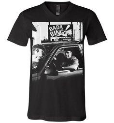 sweatshirt the Mafia soprano gangster tv series MOB sweat pull Bada Bing