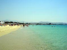 #AgiosProkopios #Sandy #Beach #Naxos #Cyclades  Photo on www.truenaxos.com