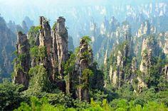 「黄石寨風景区」/中国、武陵源