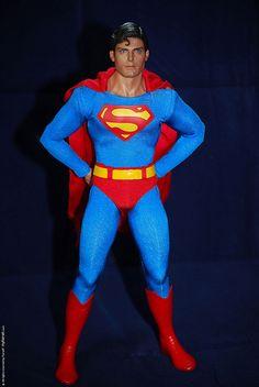 Barbie * herec Christopher Reeves - z filmu Superman.