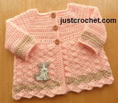 Free baby crochet pattern 0-3 month cardigan usa Crochet Baby Cardigan Free Pattern, Crochet Baby Jacket, Crochet Baby Sweaters, Gilet Crochet, Baby Sweater Patterns, Baby Girl Crochet, Crochet Baby Clothes, Newborn Crochet, Baby Patterns