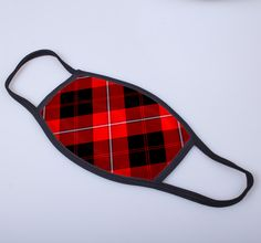 non medical face covering with Cunningham printed tartan - only from ScotClans
