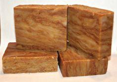 Pumpkin Spice handmade Soap Vegan friendly by Silkspacreations, $5.00