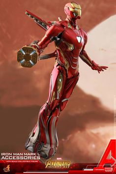 Hot Toys 1/6th scale Iron Man Mark L Accessories Collectible Set [Avengers: Infinity War] Marvel Comics, Marvel Heroes, Marvel Avengers, Iron Man Suit, Iron Man Armor, Marvel Infinity, Infinity War, Hot Toys Iron Man, Robert Downey Jr.