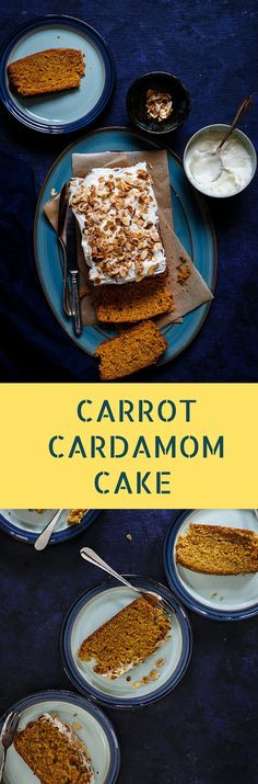 Make this delicious CARROT CARDAMOM CAKE at home with this easy recipe. Moist and full of Flavors! | EASTER RECIPES