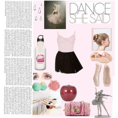 """""""Our feet slip into satin shoes with stiff shanks, hard boxing, tight elastic, and slippery ribbons that wrap and end in hard knots. The frayed edges are crammed out of sight. We stand. A row of bound feet rises to its toes-Claire, On Pointe"""" by sweet-nothings-and-skinny-jeans on Polyvore"""