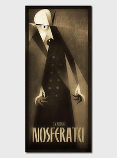 Nosferatu Illustration by Szoki More of the Classic Monsters series on WE AND THE COLOR. Illustrations on WE AND THE COLORWATC//Facebook//Twitter//Google+//Pinterest