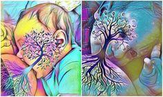 App cria lindas árvores da vida com fotos de amamentação