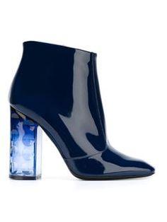 Nicholas Kirkwood Cylindrical Heel Boots - Stivali - Farfetch.com