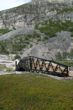 Lillefjord Rest area & footbridge / Pushak DEN