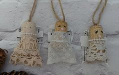 Christmas Tree Ornaments Christmas Tree Decorations by SCWVintage