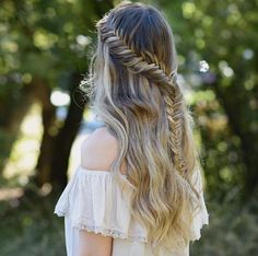 Lace french fishtail by Jordan
