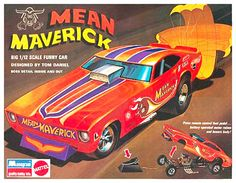Monogram Mean Maverick funny car