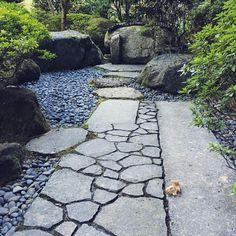 Portland Japanese Garden. #path #japanesegardens #portlandjapanesegarden #picoftheday #portland