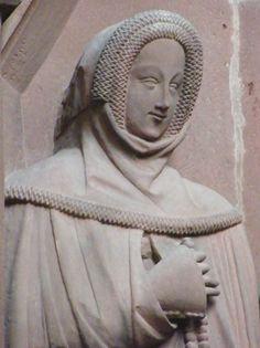 Germany Wertheim Stiftskirche Margareta of Rieneck 1364 head 84.JPG 2 163 × 2 896 pixlar
